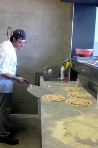 Pala per pizza testimonial di Cristian Zaghini