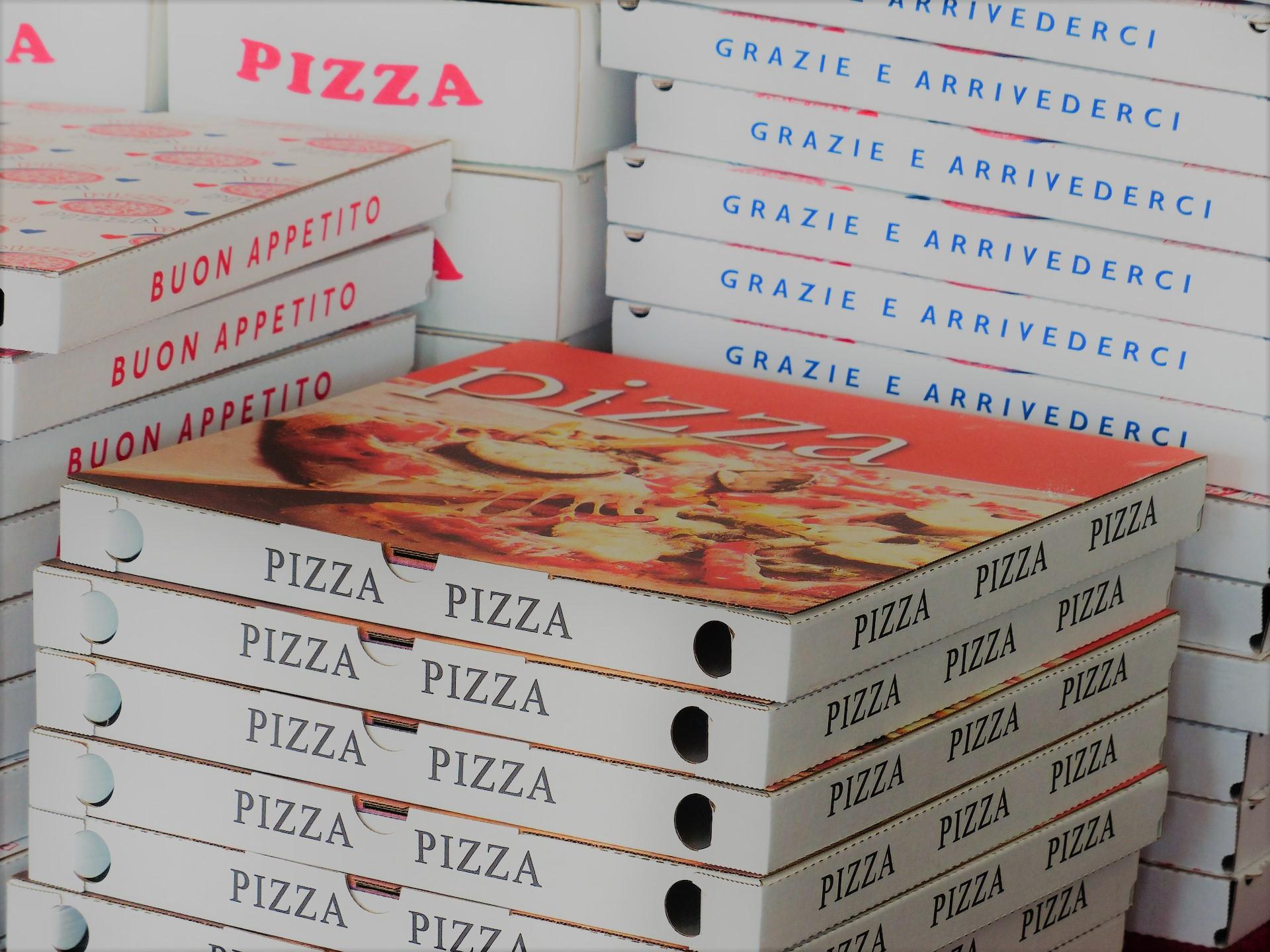 Scatole pizze